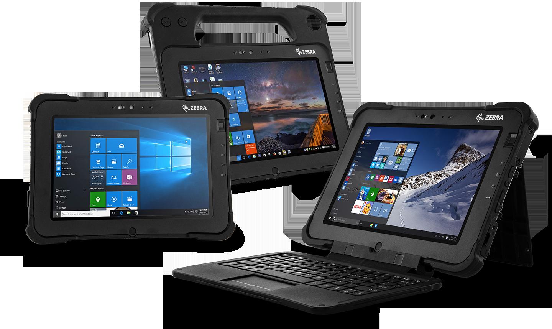 L10 Series Zebra Tablets