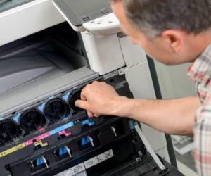 Service technicians printers