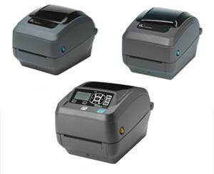 GX420, GX430, ZD500 Zebra Desktop Printers