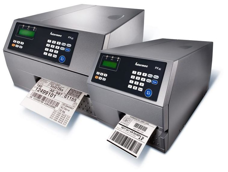 PX4i and PX6i Honeywell Industrial Printers